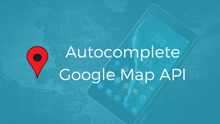 Auto Complete City Google Map API In Laravel