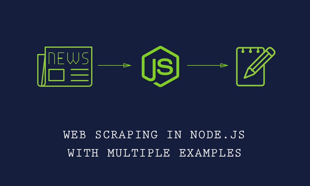 Data scraping with node js and display in laravel