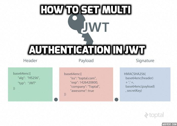 How To Set Multi Authentication in JWT