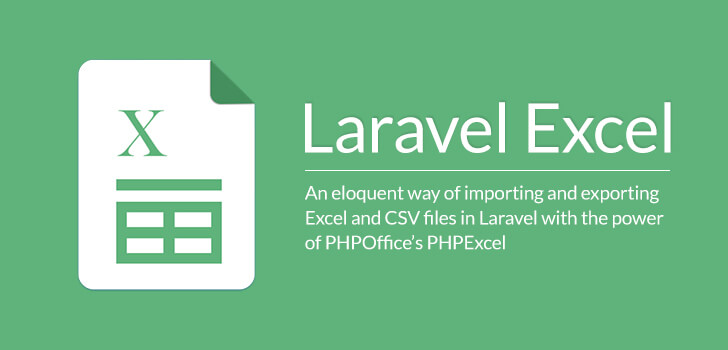 Excel and csv import export using maatwebsite in laravel example