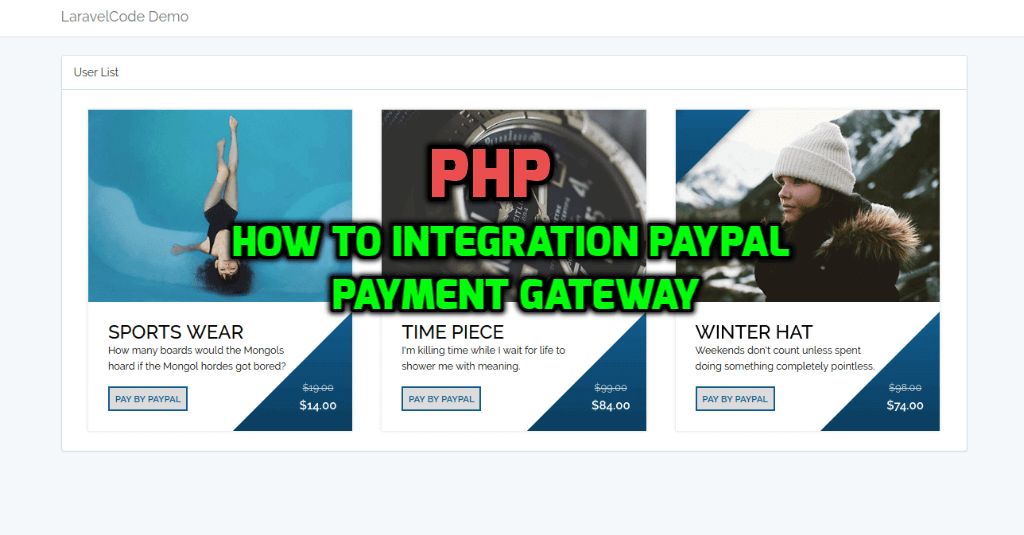 PHP - How To Integrate Paypal Payment Gateway In PHP