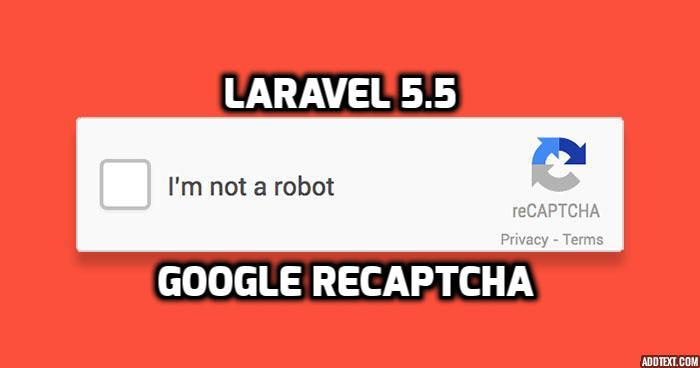 Laravel 5.5 - Google reCaptcha Code With Validation Example