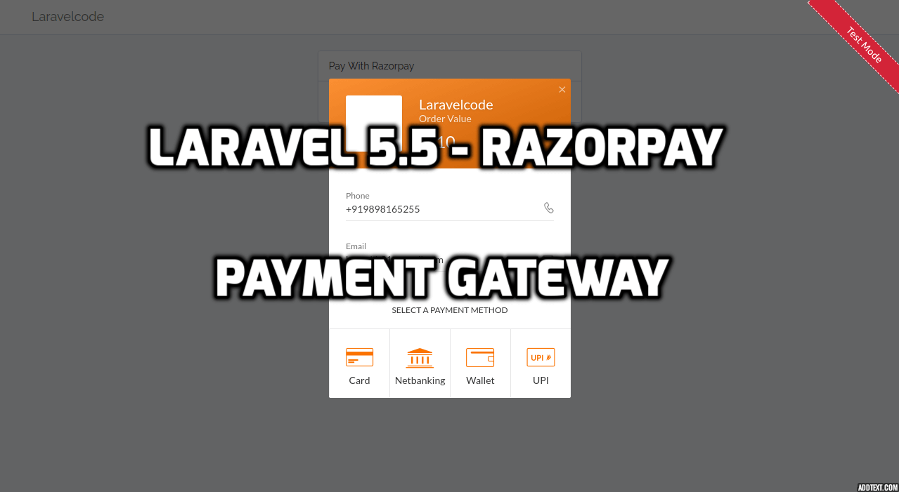 Stripe Payment Integration With Laravel 5 4 - Laravelcode