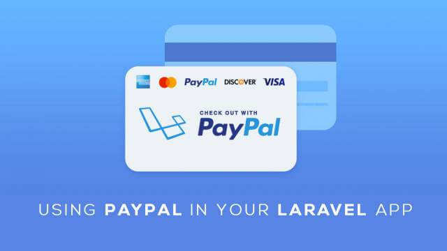 How to integrate paypal payment gateway in laravel 5 4